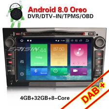 DAB+Autoradio für Opel Astra Corsa Vectra Zafira Antara Android 8.0 Navi GPS DTV