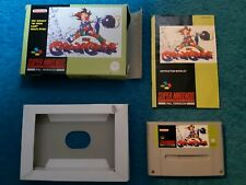 Kid Klown In Crazy Chase SNES Super Nintendo Boxed game PAL with instructions