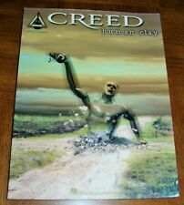 Creed Music Book - Human Clay - Guitar Recorded Versions - B & W Photos Of Group