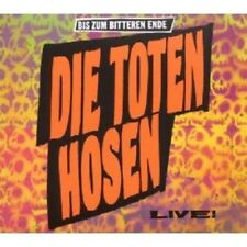 DIE TOTEN HOSEN - BIS ZUM BITTEREN ENDE-LIVE! CD NEW+