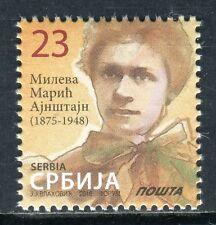 1036 SERBIA 2016 - Mileva Maric Einstein - MNH Set - Definitive Stamps