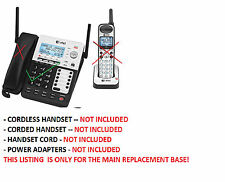 BASE ONLY - AT&T SB67118 4 Line Corded Cordless Intercom  Phone System - See PIC