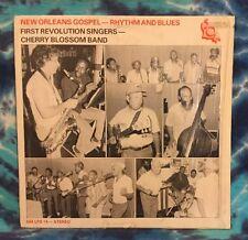 CHERRY BLOSSOM BAND First Revolution Singers NEW ORLEANS GOSPEL R&B LP