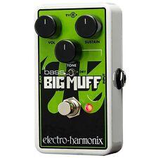 Electro-Harmonix Nano Bass Big Muff Distortion Bass Guitar Effects Pedal BNIB