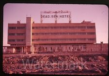 1961 amateur 35mm  Photo slide Amman Jordan #2 Dead Sea Hotel