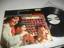 RARE 1959 PROMO LP MAURICE MEDOC FRENCH WITHOUT TEARS PIANO UNITED ARTISTS MONO