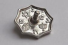 Hanukkah Metal DREiDEL Silver Small Hanuka Sevivon Spinning Top