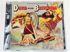 Alfred Newman DAVID AND BATHSHEBA Gregory Peck Complete Soundtrack CD (NM)