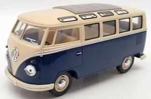 Kinsmart 1/24 Scale TY2846 - 1962 Volkswagen Classic Bus - Blue
