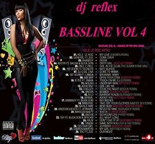 DJ REFLEX FUNKY HOUSE BASSLINE MIX CD VOL 4