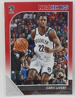 2019-20 NBA Hoops Red Parallel Caris LeVert 25/75 Brooklyn Nets #15 SSP Panini