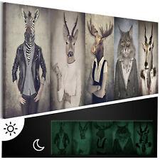 Tag & Nacht Wandbilder xxl nachtleuchtende Bilder 3D nachleuchtend g-B-0041-ag-a