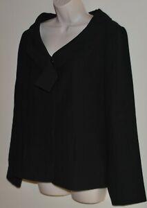 Veronika Maine lined black jacket Size 14