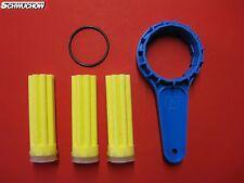 Fitre à Huile filtres à de chauffage 3 ST long SIKU JAUNE 50 µm Clé modèle