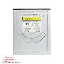 Pioneer 12x Internal Blu Ray combo DVD/CD Burner Writer Drive BDC-207+SATA Cable