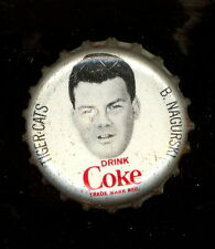 1965 COKE COCA-COLA CAP + CORK CFL FOOTBALL BRONKO NAGURSKI HAMILTON TIGER CATS