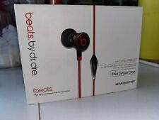 Never Used Monster ibeats by dre W/ ControlTalk (red and black)