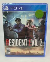 Resident Evil 2 Video Game (Sony Playstation 4, PS4, 2019) NEW SEALED