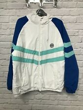 Primark Native Trail white and blue hooded coat label size large