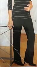 NEW MATERNITY NEXT WIDE LEG SMART BROWN TROUSERS SIZE 12 REGULAR