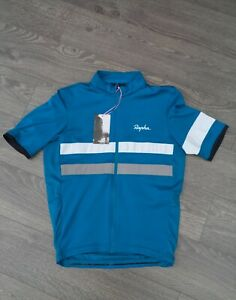 RAPHA Men/'s Yvory Cotton Crew Neck Cycling Mechanics Long Sleeve T-Shirt M BNWT
