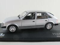 "IXO #139 Opel Kadett D (1979) ""Hans Seer"" in silbermetallic 1:43 NEU/PC-Vitrine"