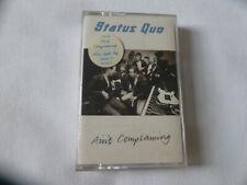 STATUS QUO ~ AIN'T COMPLAINING ~ VERTIGO 1988 UK POP ROCK CHROME CASSETTE TAPE