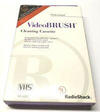 NEW RadioShack VHS VideoBrush Cleaning Cassette 44-1203 NIB Professional