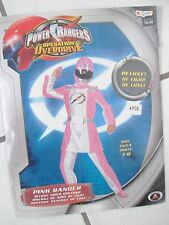 Girls Halloween Costume Pink Power Ranger size 7-8 Operation Overdrive Disguise