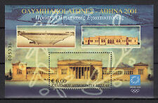 """GREECE 2002 6th ISSUE """"ATHENS 2004"""" MINIATURE SHEET MNH"""