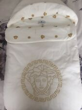 Young Versace Authentic Baby Foot Muff Sleeping Bag Brand New