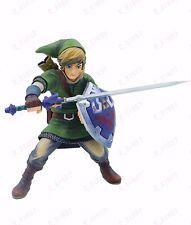 HOT Game The Legend of Zelda Skyward Sword LINK 8in. pvc figure statue no box