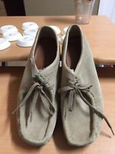 CLARKS Wallabees sand ankle boot shoe women  9 medium men 8.5