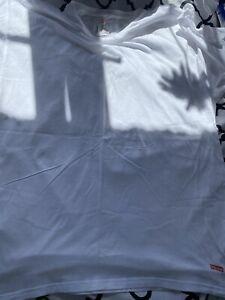 Mens Hanes X Supreme Logo T-Shirt XL
