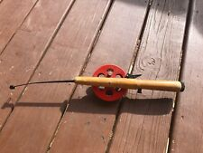 Vintage Ice Fishing Pole-Normark Thrumming Teho