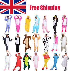 Unisex Adult Animal Onsie88Onesie12 Anime Cosplay Pyjama Kigurumi Fancy Dress UK