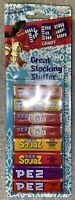 Vintage PEZ Dispenser Stocking Stuffer Refill Pack Sourz Cola Candy On Card NEW