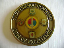175TH FINANCE COMMAND CHALLENGE COIN YOU CAN'T AFFORD TO GO TO WAR WITHOUT US