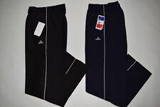 2 Herren Jogginghose Sporthose Microfaser... Größe M ( Schwarz und Blau)
