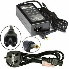 Acer Aspire 3410G Compatible Laptop Adapter Charger With Free Uk Power Cable