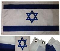 3x5 Embroidered Sewn Israel Country Premium Quality Nylon Flag 3'x5' (RAM)