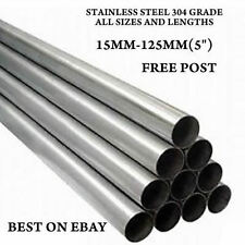 6mm x 1.0mm Wall T304 Stainless Steel Tube 500mm Long Repair Pipe