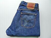 "LEVIS 590 Mens Jeans Regular Straight Blue Denim SIZE W33 L34 Waist 33"" Leg 34"""