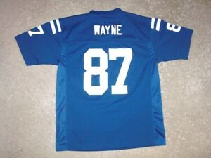 Indianapolis Colts REGGIE WAYNE football jersey youth Large