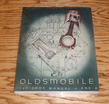 1949 Oldsmobile 6 & 8 Cylinder All Model Shop Service Manual
