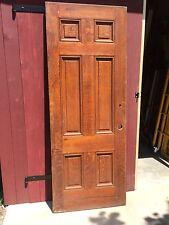Six Panel Oak Door.