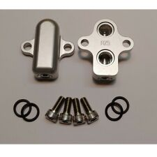 RZ500 anti dive by pass plates RZ RD 500 lc silver anodized NEW