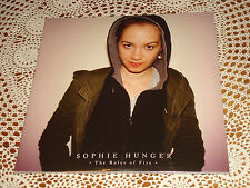 SOPHIE HUNGER The Rules of Fire TWOGENTLEMEN 2x 10´´ LP NEW SEALED