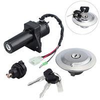 For Yamaha YBR125 YBR 125 02-14 Ignition Switch Gas Cap Cover Seat Lock Keys Kit