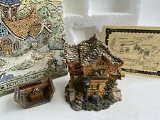 1st Edition Boyds Bearly Built Villages #19006 Public Libeary Orginal Box Excel